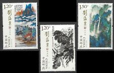 China 2016-3 Selected Paintings Liu Haisu stamp set MNH