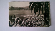 1962 B&W Postcard Cannes France General view