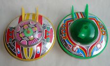 Vintage Flying Saucer Spaceship UFO Space Toy CC7 ST6 Tin Plastic Made in Japan