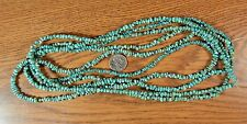"~18"" strand~  Genuine CARICO LAKE Turquoise Small Nugget Chip Beads"
