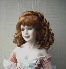 "Doll Wig - #W1 Ringlet wig size 5""(head): CHOICE of color."