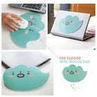 1 X Anti-skid Cartoon Cloud Cute Mouse Pad Mice Mat With Sticker On Back