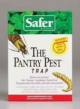 NEW SAFER BRAND 05140 PACK (2) PANTRY PEST MOTH TRAPS KILLER WITH LURES 4286514