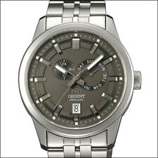 Orient Grey Trooper Automatic Watch with Sapphire Crystal, SS Bracelet #ET0S001A