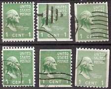 Briefmarken USA George Washington 1 Cent C / D gestempelt (I)