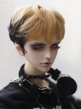 Bjd Doll Wig 1/3 8-9 Dal Pullip AOD DZ AE SD DOD LUTS Dollfie gold black  Hair