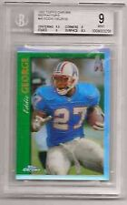 EDDIE GEORGE RC 1997 TOPPS CHROME REFRACTOR ROOKIE BECKETT GRADED BGS 9-OILERS