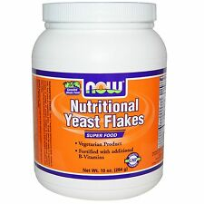 Nutritional Yeast Flakes, 10 oz (284 g) - Now Foods