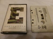 BILL BRUFORD'S EARTHWORKS  -  EARTHWORKS   CASSETTE   1987  EGEDC48