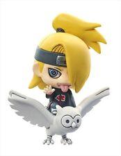 Naruto Shippuuden 2'' Deidara Akatsuki Petit Chara Land Trading Figure NEW