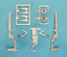 P-51D Mustang Landing Gear for 1/24th Scale Trumpeter Model SAC 24006