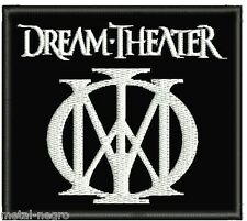 DREAM THEATER EMBROIDERED PATCH HEAVY PROGRESSIVE ROCK Metal Negro