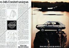 PUBLICITE ADVERTISING 016  1982  Volvo la 345 (2p)