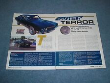 "1972 Buick GS Stage 1 Drag Car Article ""Tri-Shield Terror"" 455"