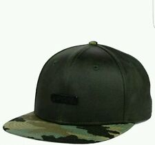 OFFICIAL SNAKES STAINED BAMBOO camo SNAP BACK FLAT BILL CAP/HAT free shipping