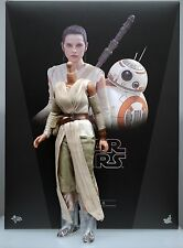 NEW Hot Toys Star Wars Force Awakens Rey body clothes + boot looses 1/6th scale
