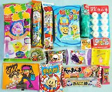 16 PCS SET JAPANESE CANDY Dagashi Lot of candy Kracie popin cookin Ramune Gift