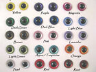 15 PAIR 6 to 12mm Plastic Safety Eyes IRIDESCENT Mix ColorTeddy Bear, Doll IPE-1