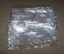 "1000 Clear 3.5"" x 8.5"" Plastic bag lot zip-lock Used ship dry goods hang holes"