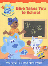 Blues Clues - Blue Takes You to School (DVD, 2003)