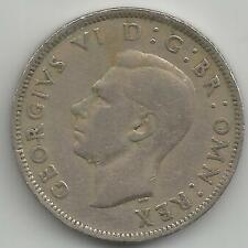 GB GEORGE VI TWO SHILLINGS - FLORIN 1948