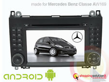AUTORADIO GPS MERCEDES BENZ CLASSE A W169 B W245 VIANO VITO LCD FULL HD ANDROID