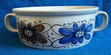 Florry Stavangerflint Ildfast Norway Scandinavian Pottery 2 Handle Serving Bowl