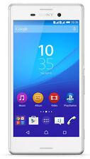 """Sony XPERIA m4 Bianco 5"""" Smartphone 13 MP fotocamera 8gb di memoria S/R SCATOLA ORIGINALE"""