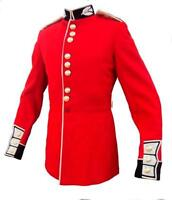 SCOTS/GRENADIER GUARDS TUNICS - BRITISH ARMY -  RED CEREMONIAL TUNIC - GRADE 1