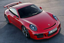 2014 Porsche 991 GT3 Style Full Body Kit Upgrade for 2012-2014 Carrera, C2, C4S