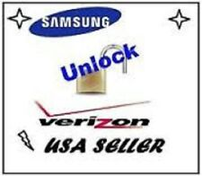 VERIZON Unlock Service - Samsung Galaxy S3 S4 S5 S6 Note HTC LG - SUPER FAST