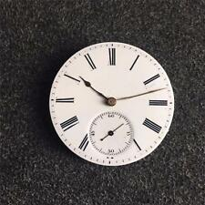 VINTAGE 38.5MM SWISS KWIKS HUNTING CASE POCKETWATCH MOVEMENT