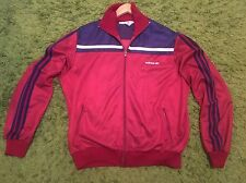 VINTAGE originale made in West Germany Adidas Tuta Giacca Top-UK XL