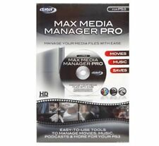 NEW PS3 Datel Max Media Manager Pro Software SAVE DVD MOVIES & CD MUSIC to HDD