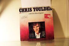 CHRIS YOULDEN - A BLUES LEGEND - LONDON COLLECTOR'S PROMO 1979 VINYL LP ALBUM