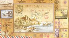 India 2011 INDIPEX 2011 MINIATURE SHEET OF 100 YEARS OF AIRMAIL MNH PMS 94