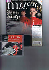 ST JOHNS COLLEGE / ERIC WHITCARE / JOHN RUTTER BBC Music + CD Christmas 2011