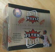 2006 Fleer Ultra Baseball Cards 24 packs 8 cards per pack Game used memorabilia