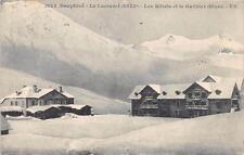 CPA 05 LE LAUTARET LES HOTELS ET GALIBIER