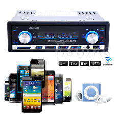 Car Bluetooth Stereo Audio 1 DIN In-Dash FM Radio Receiver USB MP3 Player New