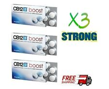 3 X10  - CB12  BOOST  - STRONG  CHEWING  GUM   (Bad Breath - Smokers)  30 GUMS