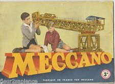 Meccano Manuel d'instructions N°3A   1960
