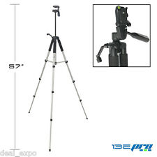 I3ePro Full Size 57-inch Tripod W/Leveler Adjust & Carrying Case for SLR Cameras