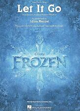 Idena Menzel from the Disney movie Frozen Let It Go      US Sheet Music