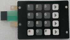 Dresser Wayne 886535-001 preset keypad for the 1/V Vista & 2/V Vista (880874-007