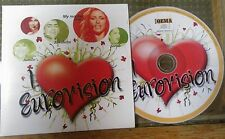 I LOVE EUROVISION ELENA PAPARIZOU SERTAB ERENER SARBEL VOSSOU RARE PROMO CD