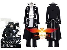 Pandora Hearts Gilbert Nightray (Raven) Cosplay Costume
