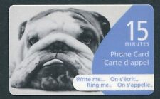 Canada 2004 Write Me, Ring Me, Dog Phone Card Only, Related to Scott 2048