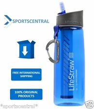 LIFESTRAW GO PERSONAL PORTABLE WATER FILTER BOTTLE PURIFIER Vestergaard New