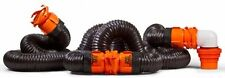 Camco 39741 RhinoFLEX Sewer Hose Swivel Fitting Sewer Hose Kit RV Campers Parts